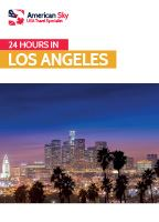 24 hours in Los Angeles Guide