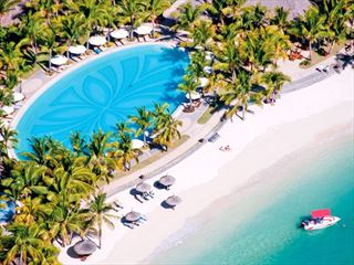 Aerial View of Paradis Beachcomber Golf Resort & Spa