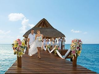 Wedding gazebo at Secrets Aura Cozumel