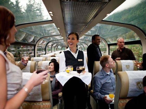 Goldleaf Service on the Rocky Mountaineer