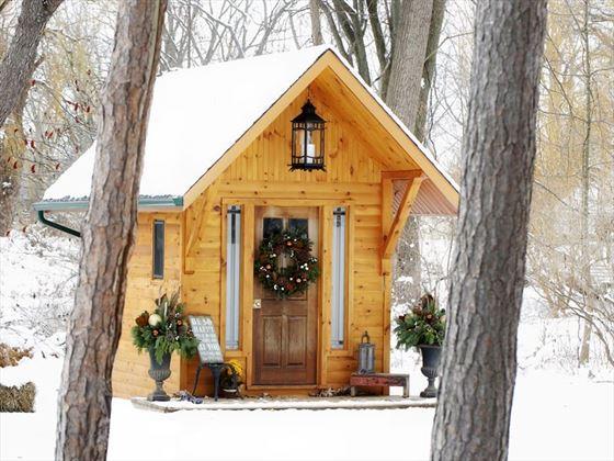 The Little Log Cabin