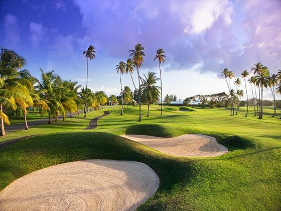 Golf course at Magdalena Grand Beach Resort