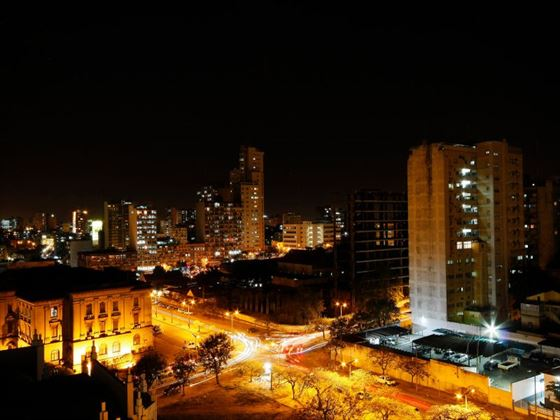 Mozambique at night