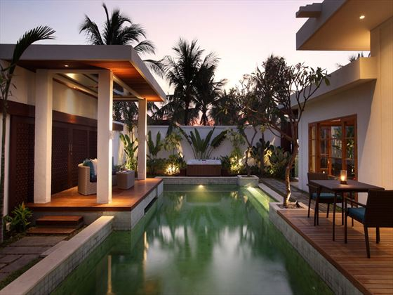 Royal Pavilion swimming pool at The Samaya Seminyak