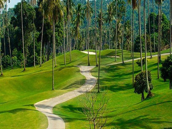Santiburi golf course at Paradise Beach Resort