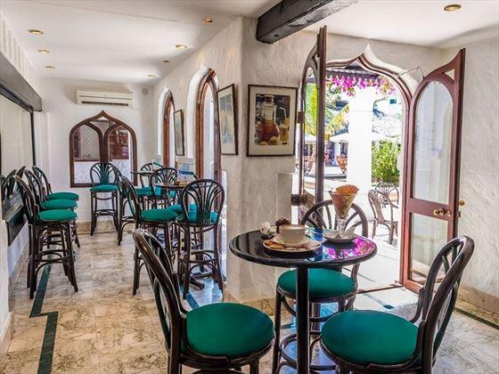 Serena Beach Resort ice cream parlour