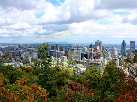 View of Montreal