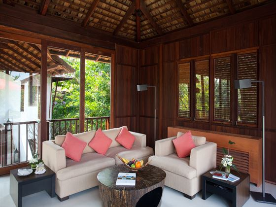 YaiYa Boutique Resort Pavilion living room