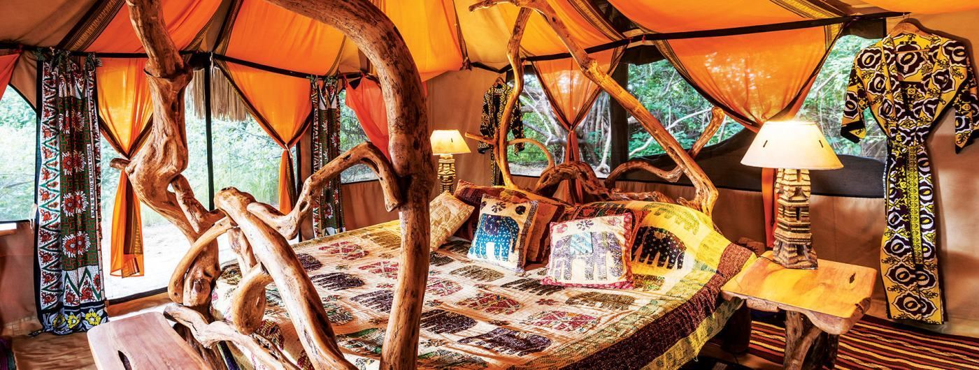 Elephant Watch Camp & Safaris room interior