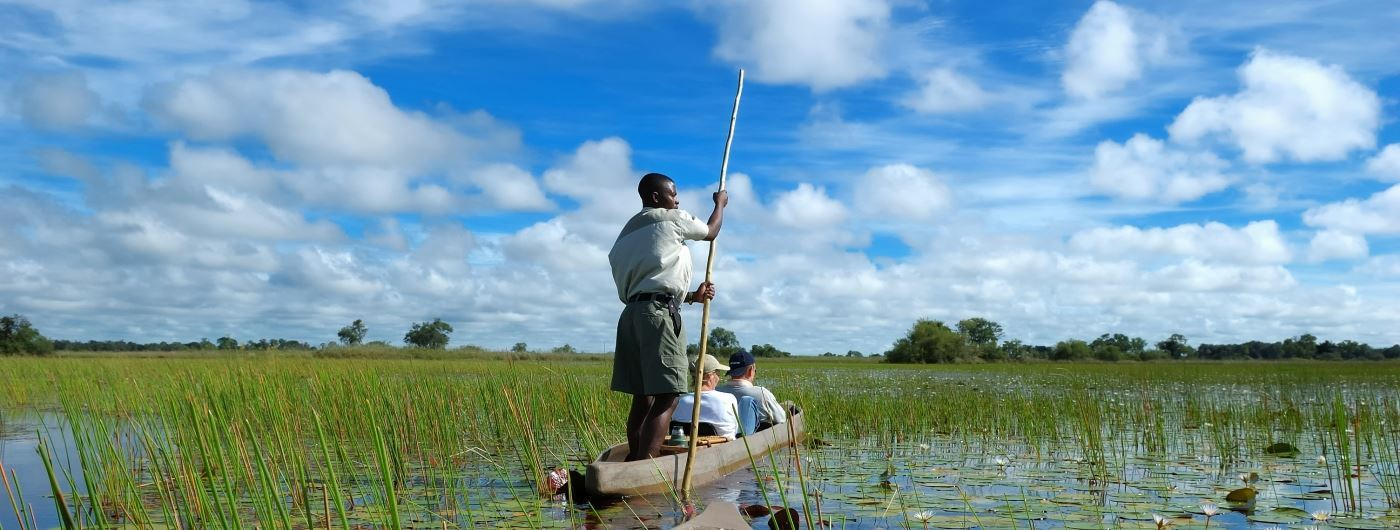Mokoro boatd safari - getty