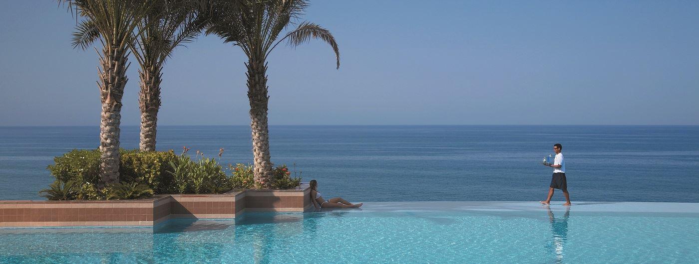 Shangri-La Barr Al Jissah – Al Husn infinity pool