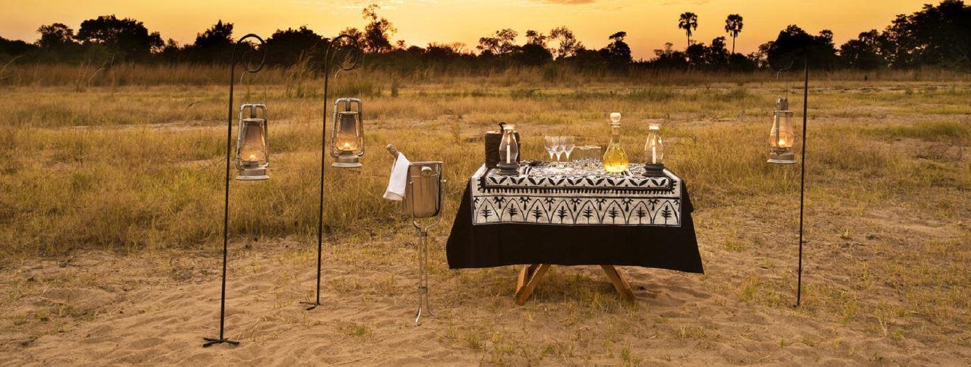Kuyenda Bush Camp sundowners