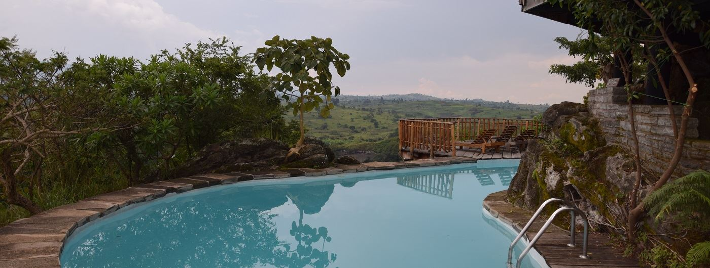 Kyaninga Lodge swimming pool