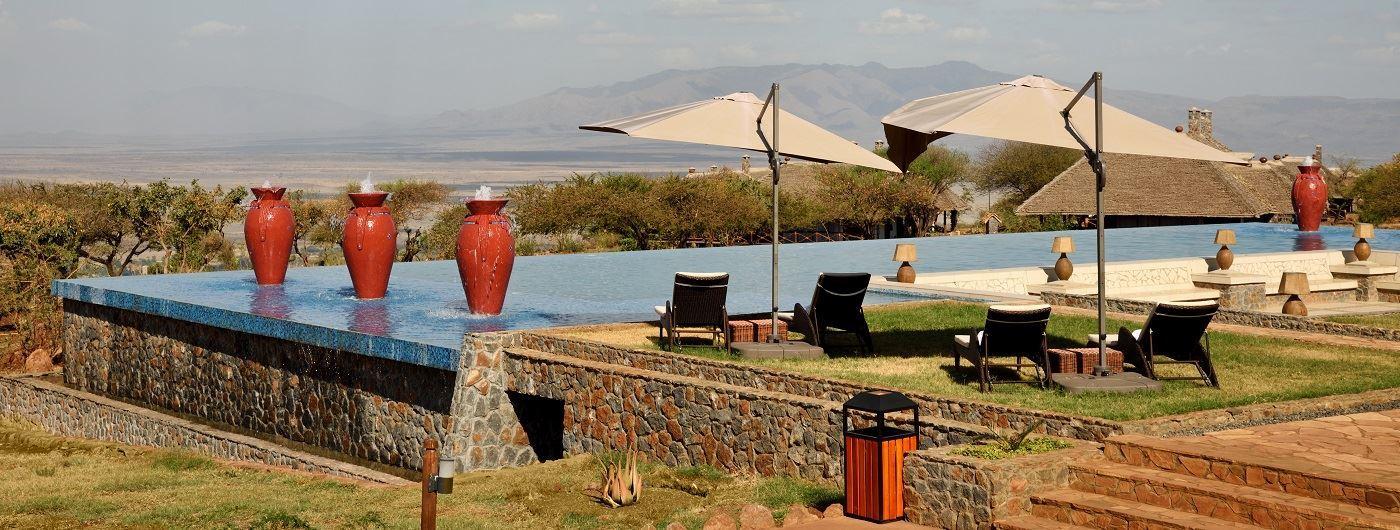 Lake Manyara Kilimamoja Lodge main pool