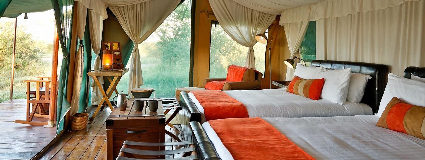 Lemala Mara bedroom