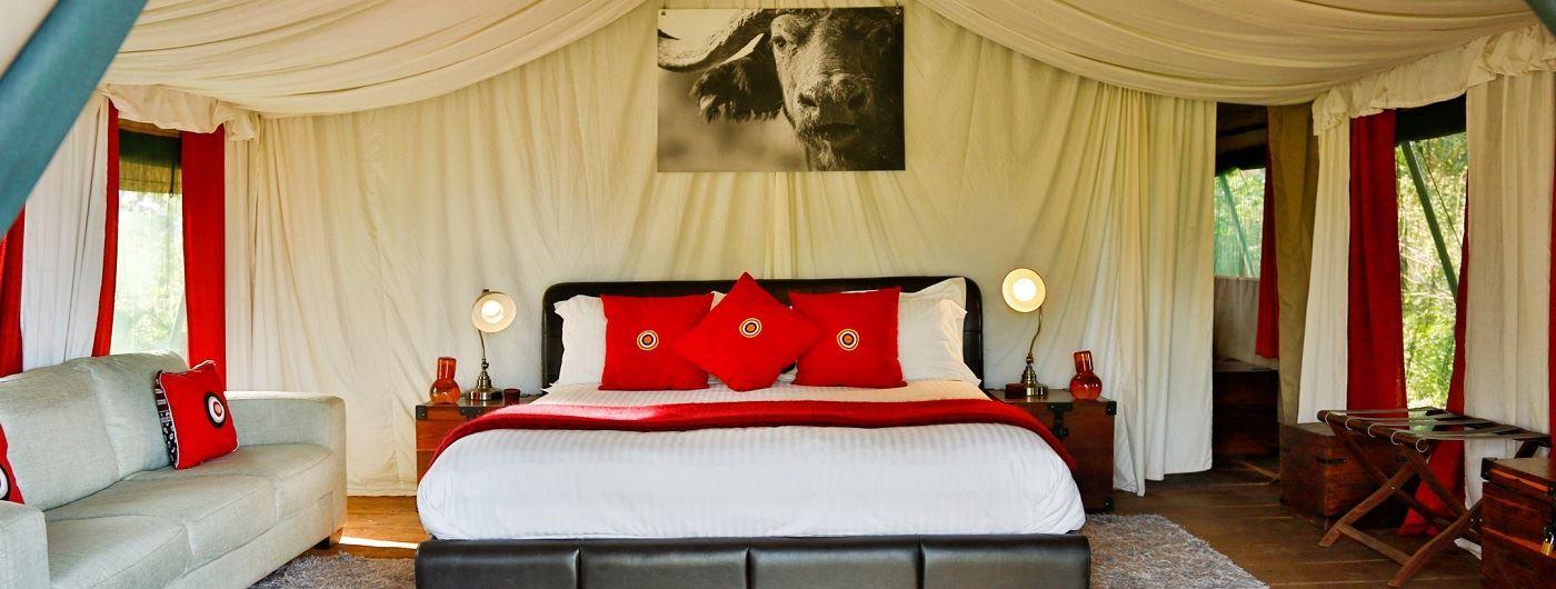 Lemala Ngorongoro Tented Camp guest tent interior
