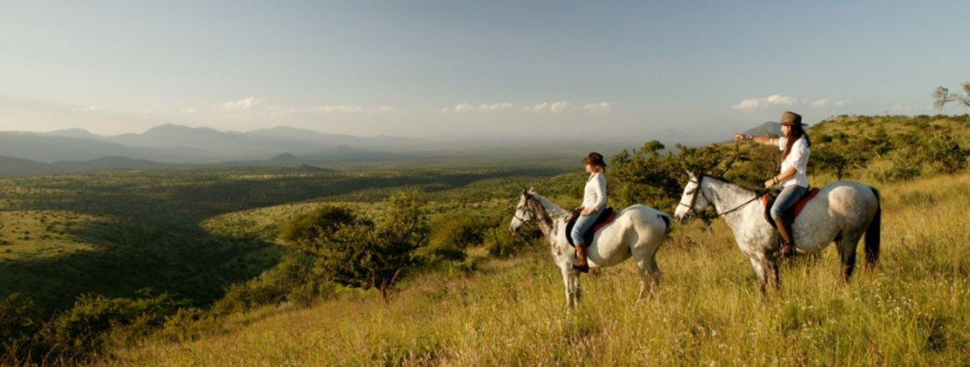 Lewa Wilderness horse riding