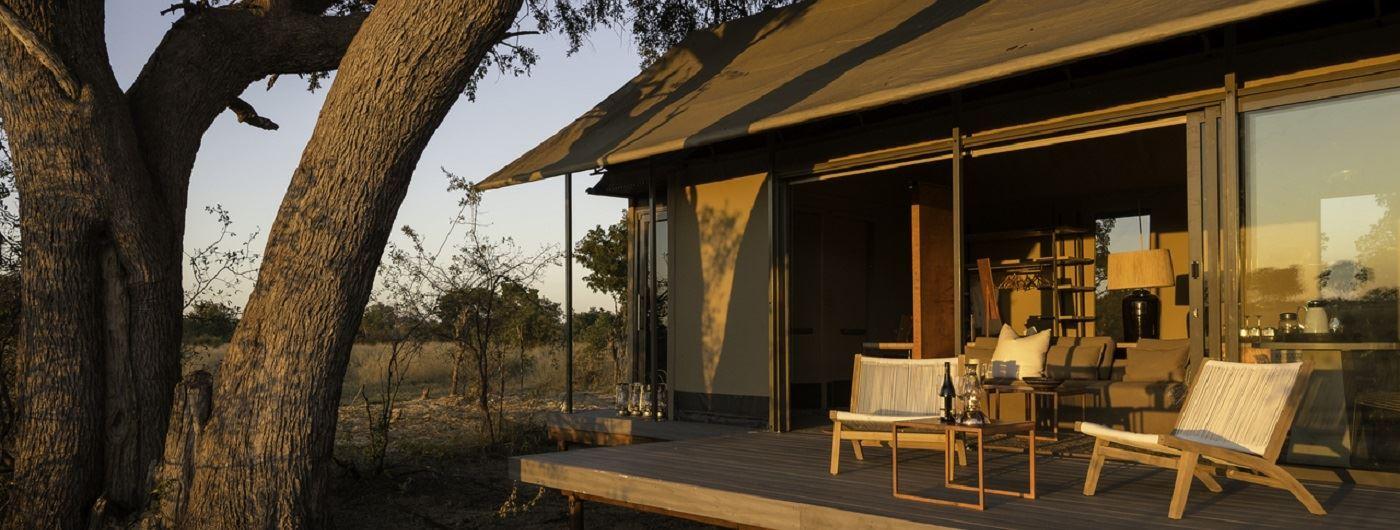 Linkwasha Camp private veranda