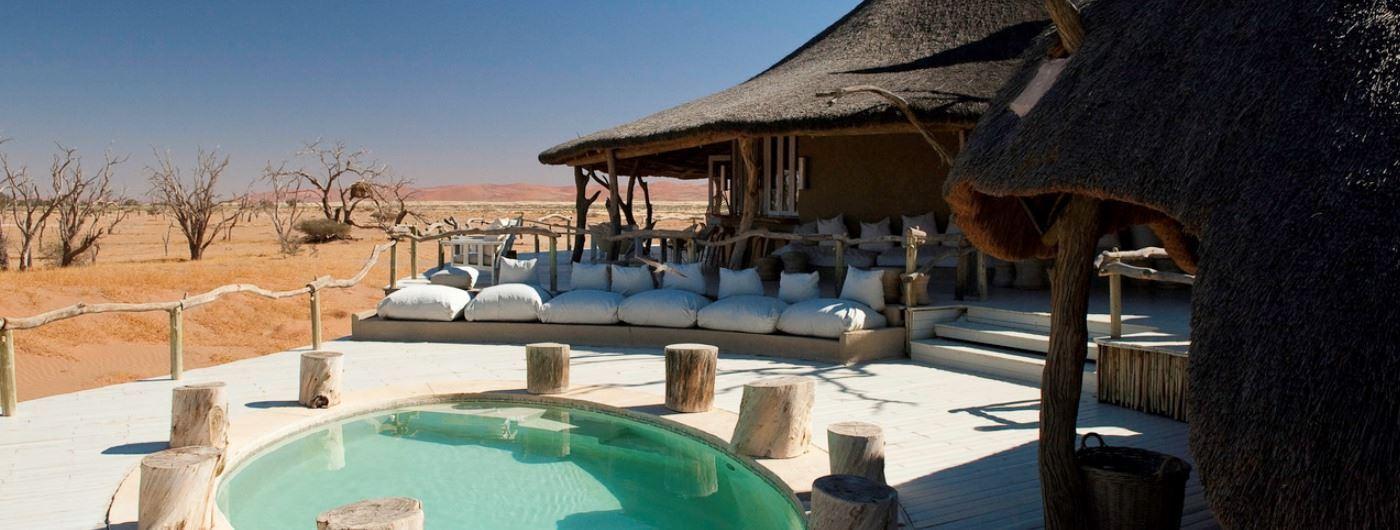 Main veranda and pool