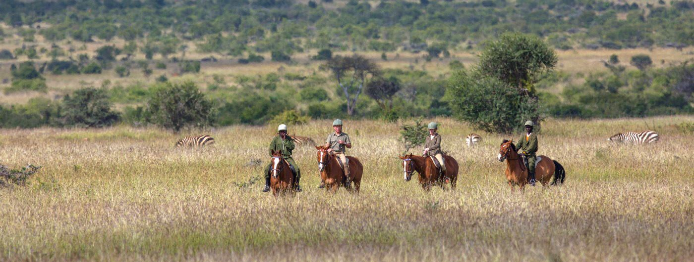 Loisaba Tented Camp horse riding (c) Silverless