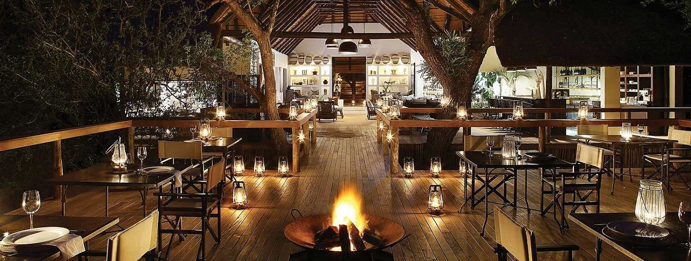 Londolozi - Tree Camp dining deck
