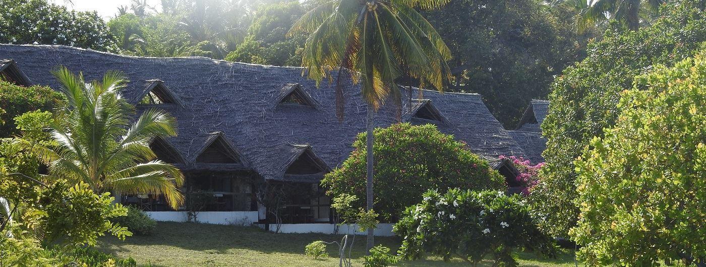 Mafia Island Lodge exterior