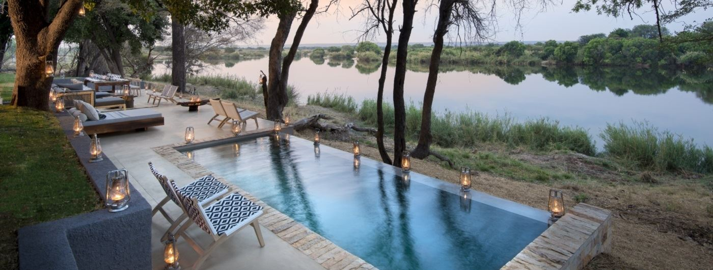 andBeyond Matetsi River Lodge - swimming pool