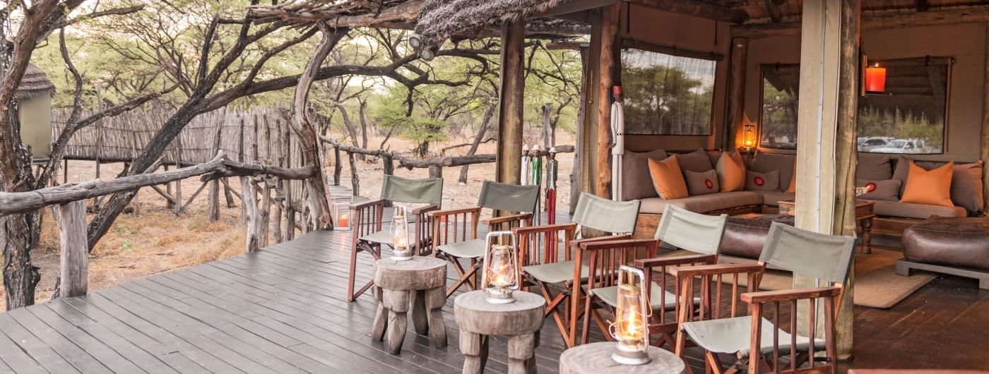 Main lounge and veranda