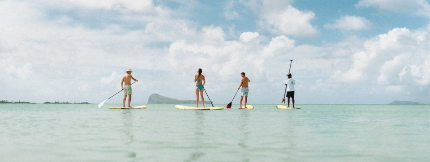 Paradise Cove Boutique paddle boarding