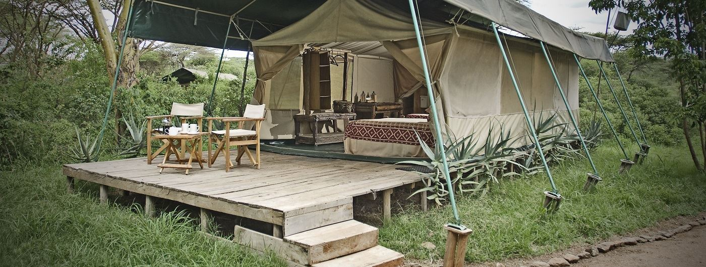 Porini Mara Camp tent balcony