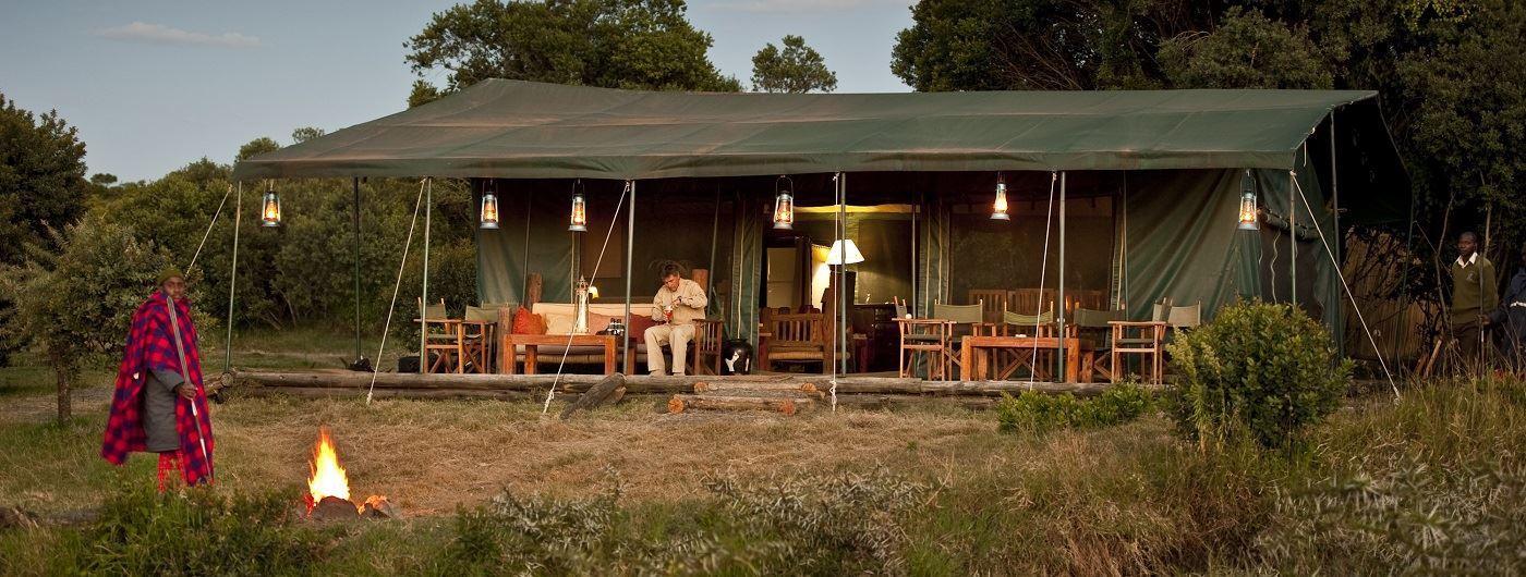 Porini Rhino Camp Frank af Petersen - Mess tent