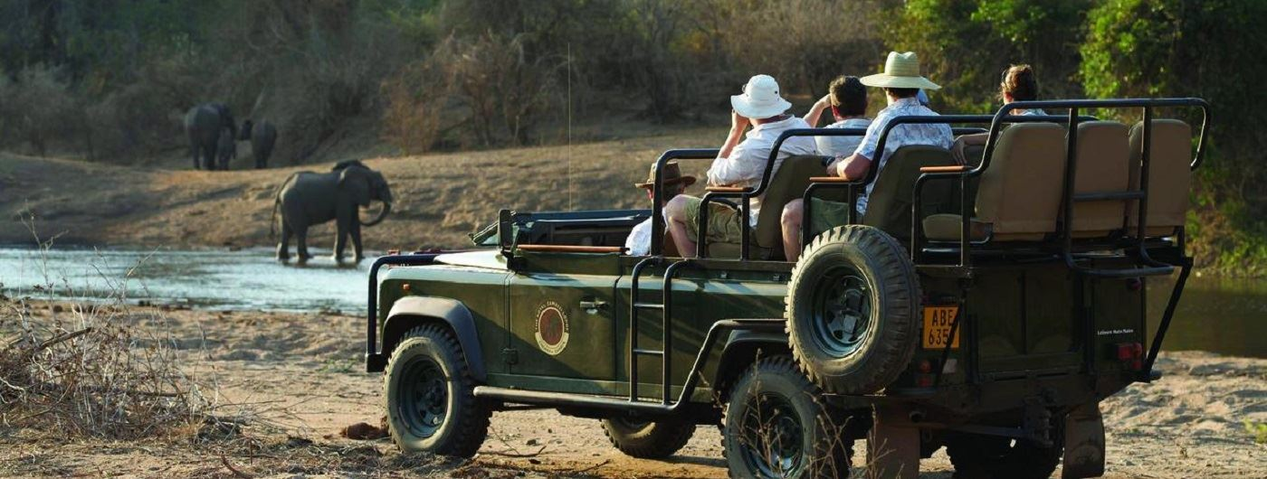 Royal Zambezi Lodge game drives