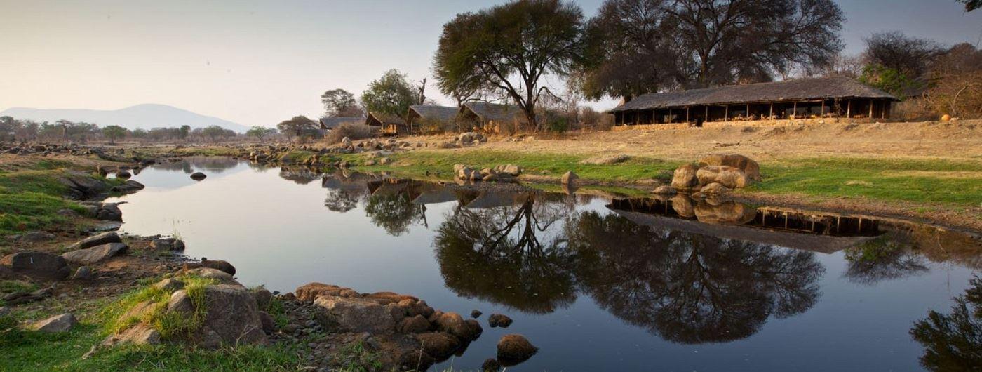 Ruaha River Lodge exterior