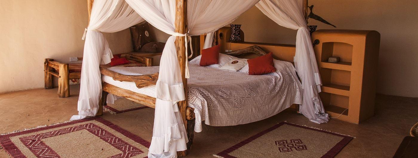 Sabuk Eagle Cottage double bedroom