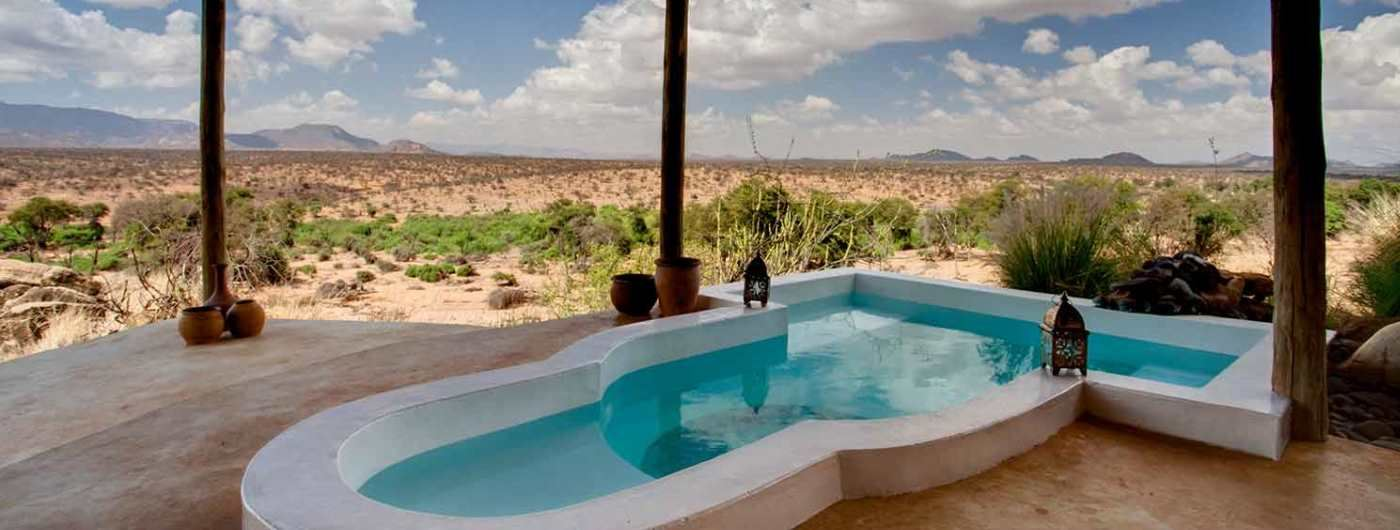 Sasaab Lodge swimming pool