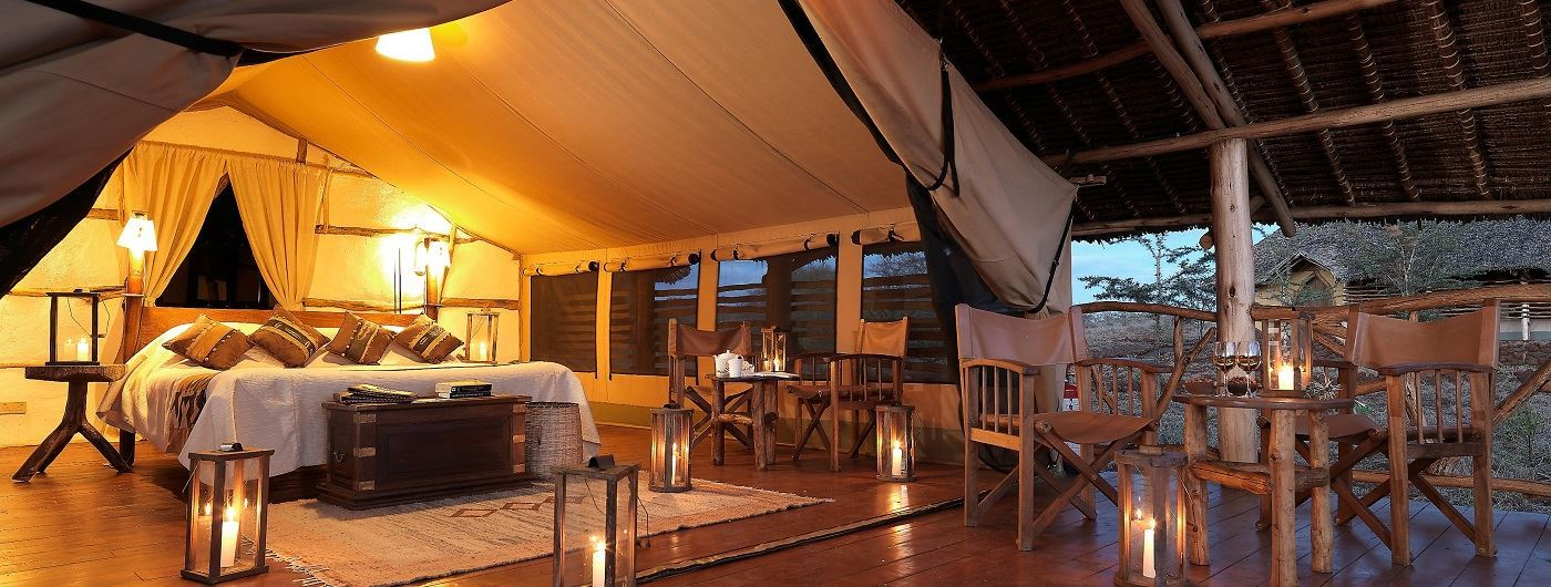 Elerai Tent at Satao Luxury Camp