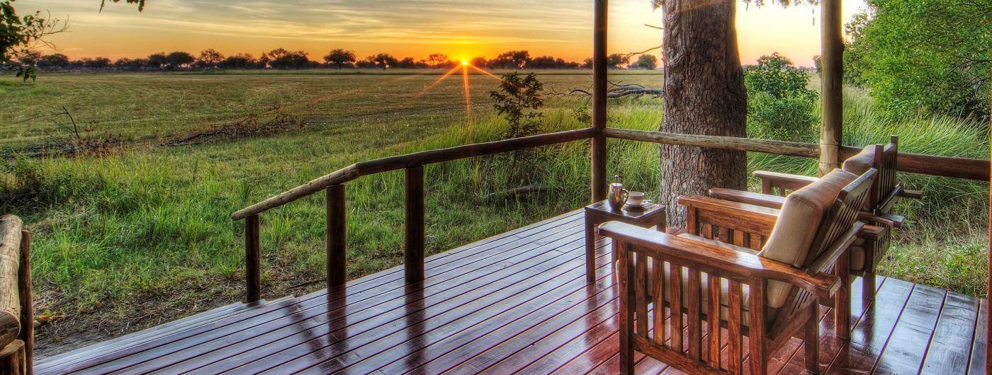 Shinde Camp private veranda