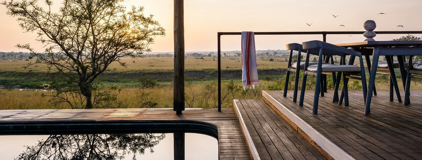 Singita Mara River Tented Camp swimming pool