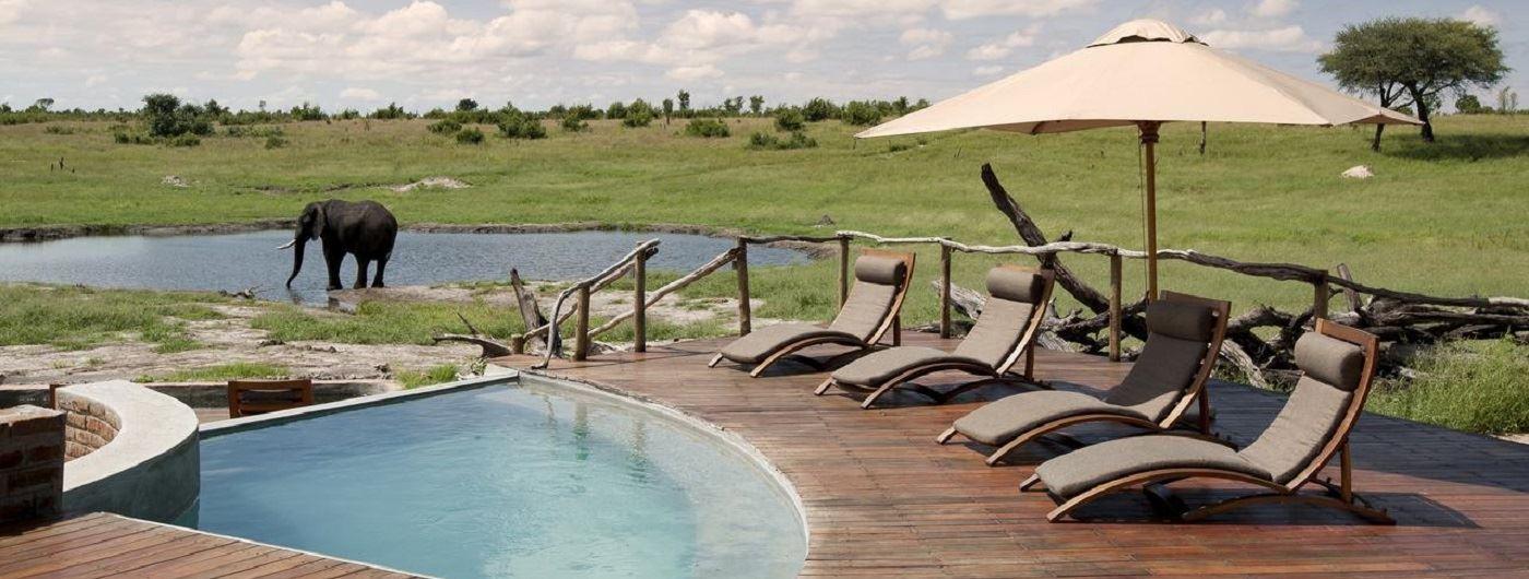 Somalisa Camp pool area