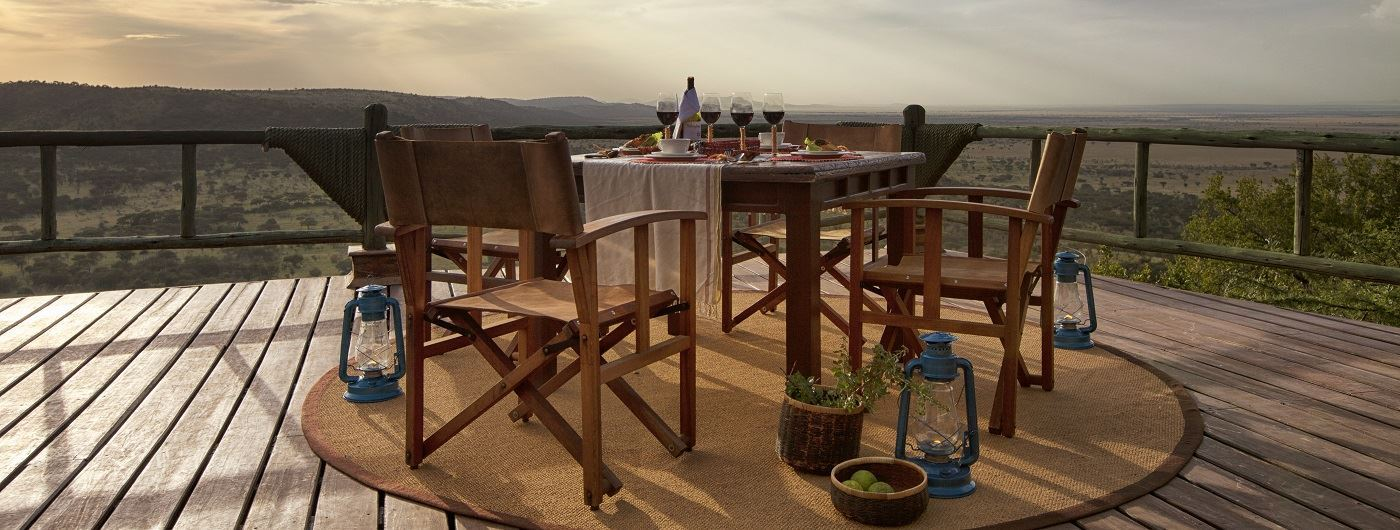 Soroi Serengeti Lodge private dining