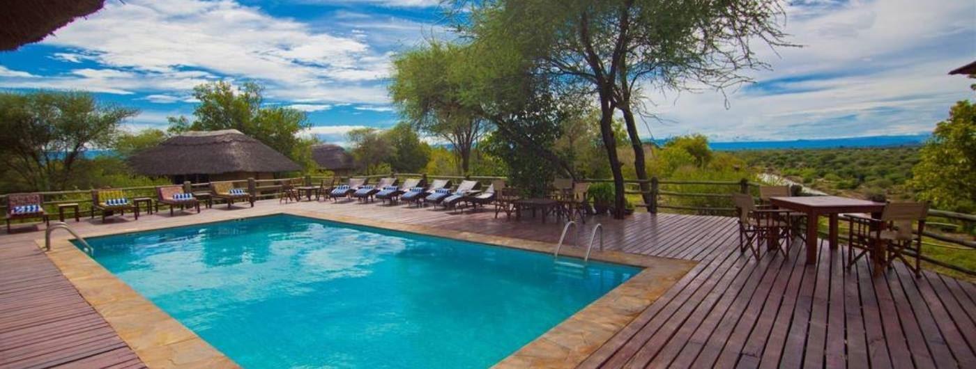 Tarangire River Camp swimming pool