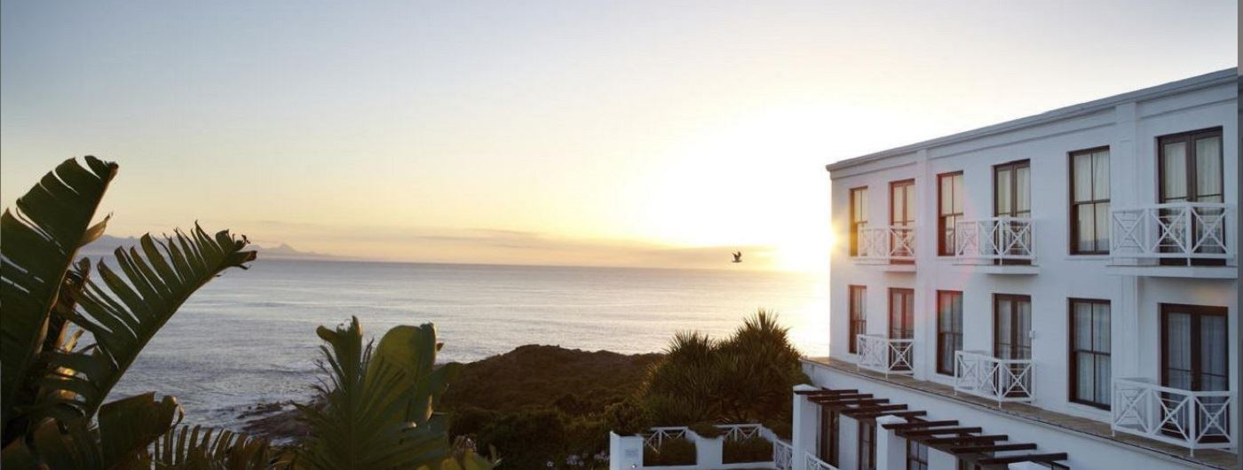 The Plettenberg Hotel with sea views
