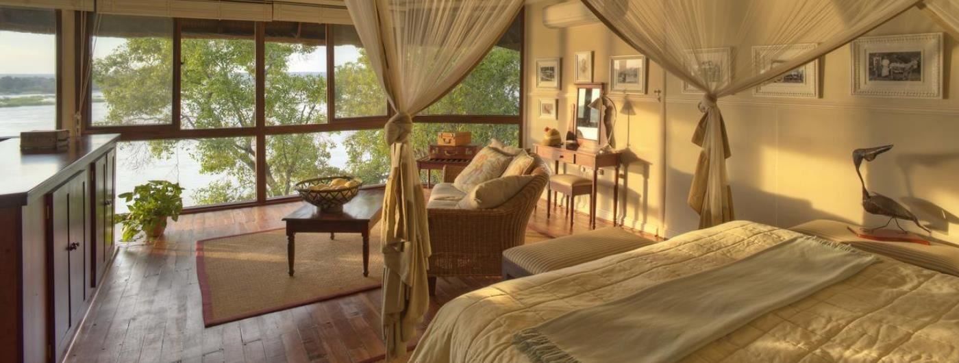 The River Club suite interior