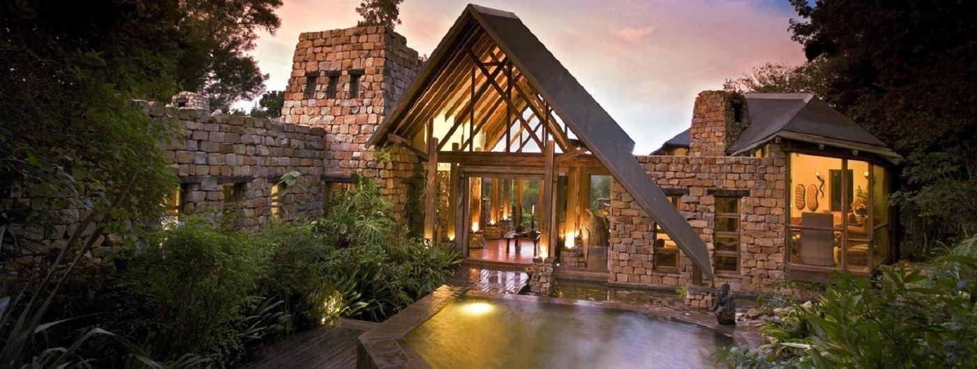 Tsala Treetop Lodge entrance