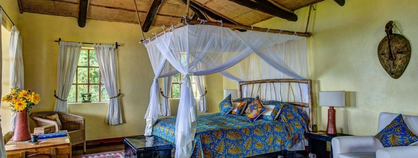 Virunga Lodge bedroom