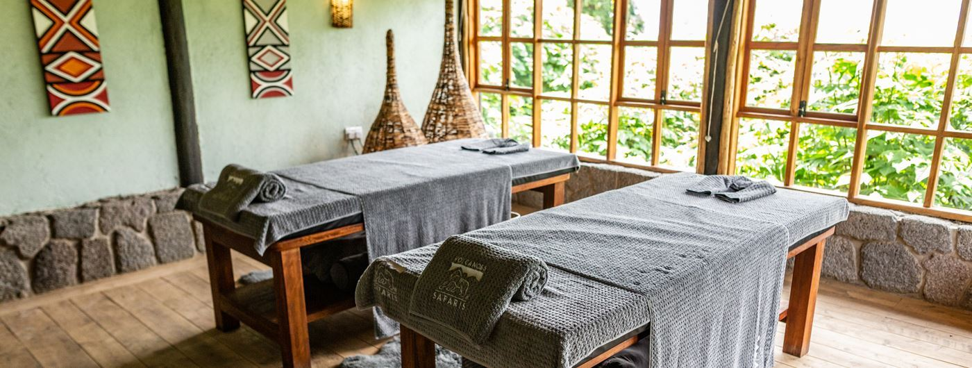 Virunga Lodge treatment room