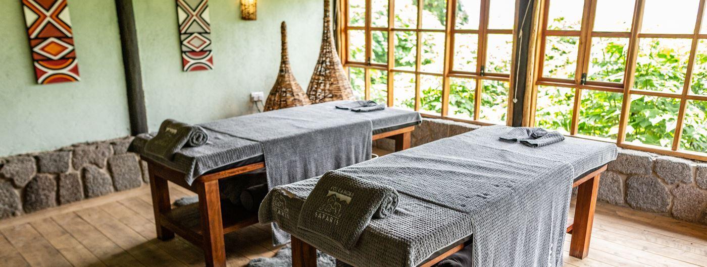 Virunga Lodge treatment room