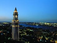 Customs House at night, Boston - Escorted Tours in the USA