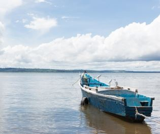 Boat in Lake Victoria - Getty