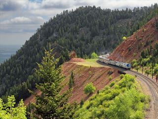 Amtrak Zephyr in Colorado